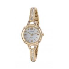 Deals, Discounts & Offers on Women - Timer Golden Round Analog Wrist Watch