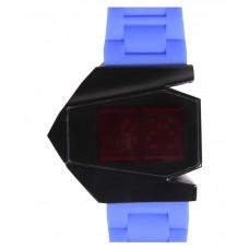 Deals, Discounts & Offers on Electronics - Veni Blue Rubber Digital Touchscreen Watch