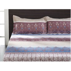 Deals, Discounts & Offers on Home Appliances - home Polyester Paisley Double Bedsheet