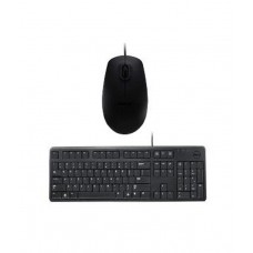 Deals, Discounts & Offers on Computers & Peripherals - Dell USB Keyboard Mouse Combo KB212 MS111(Black) With Wire