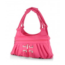 Deals, Discounts & Offers on Accessories - Rose Mary Pink P.U. Shoulder Bags