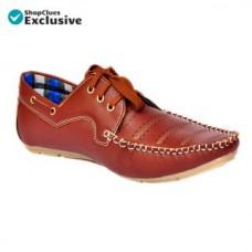 Deals, Discounts & Offers on Men - Flat 67% off on Shoeniverse  Brown Casual Shoe