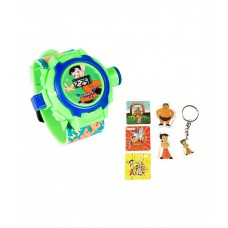 Deals, Discounts & Offers on Baby & Kids - Fantasy World Chhota Bheem Projector Watch with Puzzle