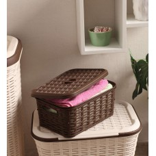 Deals, Discounts & Offers on Home Decor & Festive Needs - All Time Plastic Brown  Cresta Box