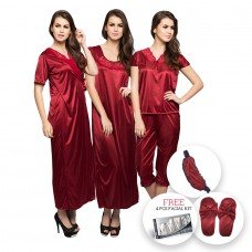 Deals, Discounts & Offers on Women - 10 Pc Nightwear Sets @Rs.1299