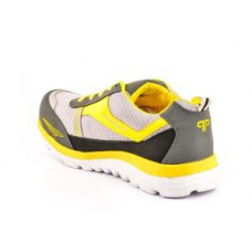 Deals, Discounts & Offers on Foot Wear - Provogue Grey & Yellow Sports Shoes