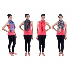 Deals, Discounts & Offers on Women Clothing - Jaipur vogue Womens Multicolor Scarf