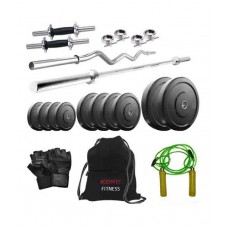 Deals, Discounts & Offers on Auto & Sports - Body Fit 35 Kg Home Gym