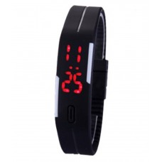 Deals, Discounts & Offers on Accessories - IIK COLLECTION Black LED Digital Watch