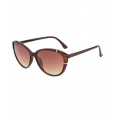 Deals, Discounts & Offers on Accessories - Ochila Brown Cat Eye Sunglasses