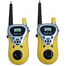 Deals, Discounts & Offers on Accessories - Slick Yellow Plastic Battery Operated Walkie Talkie For Kids