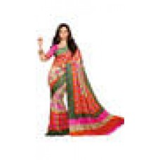 Deals, Discounts & Offers on Women Clothing - Nakshatra Creation Multi Color Bhagalpuri Saree