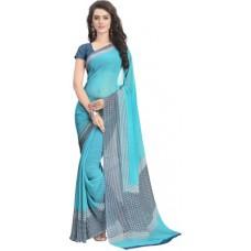 Deals, Discounts & Offers on Women Clothing - Vaamsi Printed Daily Wear Chiffon Sari