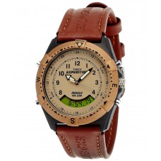 Deals, Discounts & Offers on Accessories - Timex MF13 Beige Analogue Digital Watch