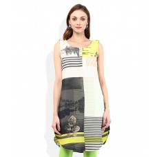 Deals, Discounts & Offers on Women Clothing - W Multi colored Kurta offer