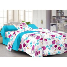 Deals, Discounts & Offers on Home Decor & Festive Needs - Story @ Home Cotton Abstract Single Bedsheet