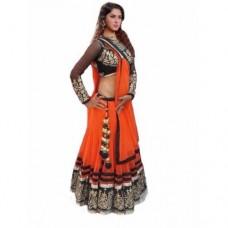 Deals, Discounts & Offers on Women Clothing - Janasya  Net Lehenga Choli