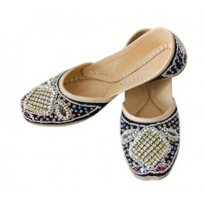 Deals, Discounts & Offers on Foot Wear - Women Dabka Punjabi Shoes Jooti Juti Slippers Mojari Sandals Belly Handmade