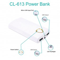 Deals, Discounts & Offers on Power Banks - Callmate  CL-613 Power Bank with Two USB Ports