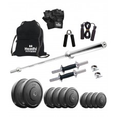 Deals, Discounts & Offers on Sports - Flat 53% off on Headly  Home Gym Set