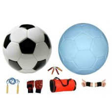 Deals, Discounts & Offers on Sports - Facto Power Model Black And White Gorgeous P.v.c Football