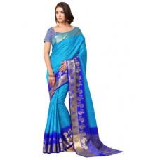 Deals, Discounts & Offers on Women Clothing - Sari Sarees Tussar Silk Woven Designer Indian Saree