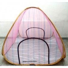 Deals, Discounts & Offers on Baby Care - 6.5 x 6.5 ft. SIZED PORTABLE FOLDABLE MOSQUITO NET FOR DOUBLE SIZE BED