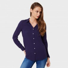 Deals, Discounts & Offers on Women Clothing - UNITED COLORS OF BENETTON Button Up Solid Shirt