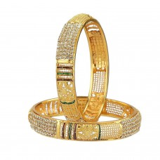 Deals, Discounts & Offers on Women - YouBella Traditional Jewellery Gold Plated Bangles