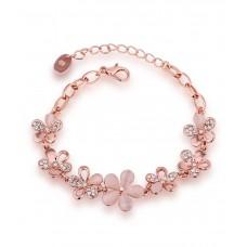 Deals, Discounts & Offers on Women - Aaishwarya Floral Bloom Bracelet