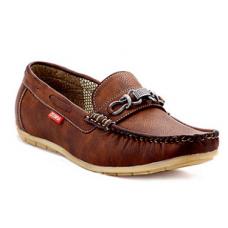 Deals, Discounts & Offers on Foot Wear - Zebra Tan Men Loafers @ Rs.799/-