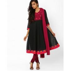 Deals, Discounts & Offers on Women Clothing - Upto 40% off on Anarkali Churidar Kurta With Dupatta