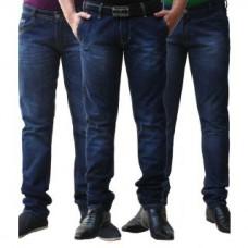 Deals, Discounts & Offers on Men Clothing - Jovial Mart Denim 3 DARK BLUE Jeans