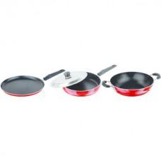 Deals, Discounts & Offers on Home & Kitchen - Nirlon Non Stick SILVER GIFT SET