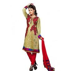 Deals, Discounts & Offers on Women Clothing - Cenizas  Chiffon Dress Material Dress Material