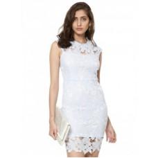 Deals, Discounts & Offers on Women Clothing - AX PARIS Crochet Bodycon Dress