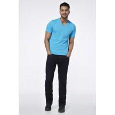 Deals, Discounts & Offers on Men Clothing - Upto 20% off on Provogue Blue V Neck T-Shirt
