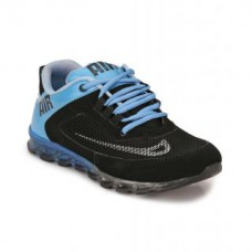 Deals, Discounts & Offers on Foot Wear - Flat 62% off on Afrojack Air Men's Black and Light Blue Sport Shoes