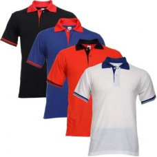 Deals, Discounts & Offers on Men Clothing - Upto 80% off on Combo Of 4 Tsx Polo Tshirts
