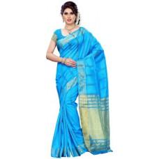 Deals, Discounts & Offers on Women Clothing - Mimosa Woven Kanjivaram Silk Sari
