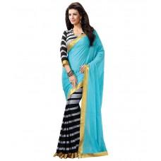 Deals, Discounts & Offers on Women Clothing - Flamingo Creations Multicoloured Art Silk Saree