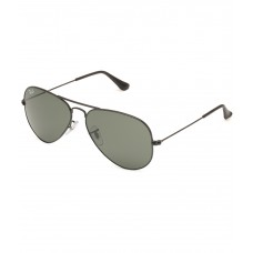 Deals, Discounts & Offers on Accessories - Ray-Ban RB3025 L2823 Green Medium Size Aviator Sunglasses