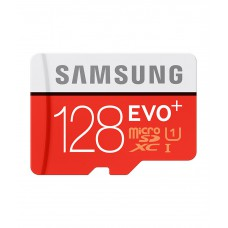 Deals, Discounts & Offers on Mobile Accessories - Samsung 128 GB UHS-I 80MB/s Class 10 Evo Plus Micro SDXC Card