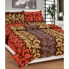 Deals, Discounts & Offers on Home Decor & Festive Needs - Plus Home Multicolor Designer Cotton Double Bedsheet