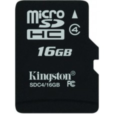 Deals, Discounts & Offers on Mobile Accessories - Kingston 16 GB MicroSD Card Class 4 4 MB/s Memory Card