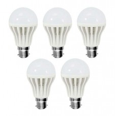 Deals, Discounts & Offers on Electronics - 12-Watt LED Bulbs - Pack of 5