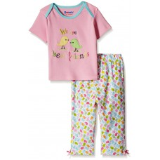 Deals, Discounts & Offers on Kid's Clothing - Flat 30% off on Donuts Baby Girls' Pyjama