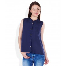 Deals, Discounts & Offers on Women Clothing - Flat 61% off on VOI JEANS Blue Blend Tops