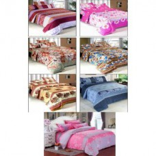 Deals, Discounts & Offers on Home Decor & Festive Needs - K Decor set of 7 Double Bedsheets