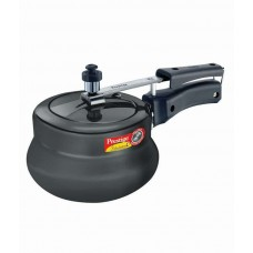 Deals, Discounts & Offers on Cookware - Prestige Nakshatra Plus Hard Anodised Handi 3L Pressure Cooker